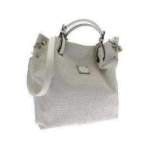 borsa a mano verticale bianco nolita