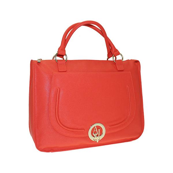 borsa rosso armani v5290