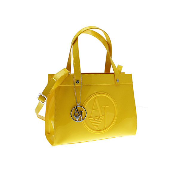 borsa giallo armani o520a
