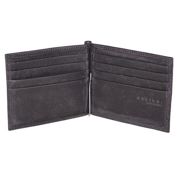 portafoglio nero interno orciani su0043lb