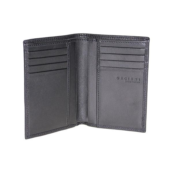 portafoglio nero interno orciani su0045but
