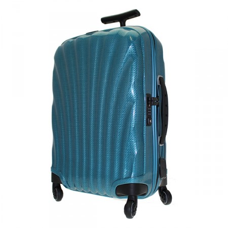 trolley v22 04 102 esmerald green cosmolite samsonite