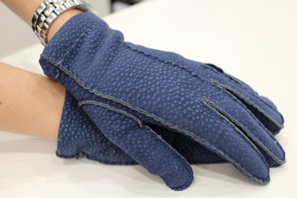 guanti donna Sergio De Rosa in peccary