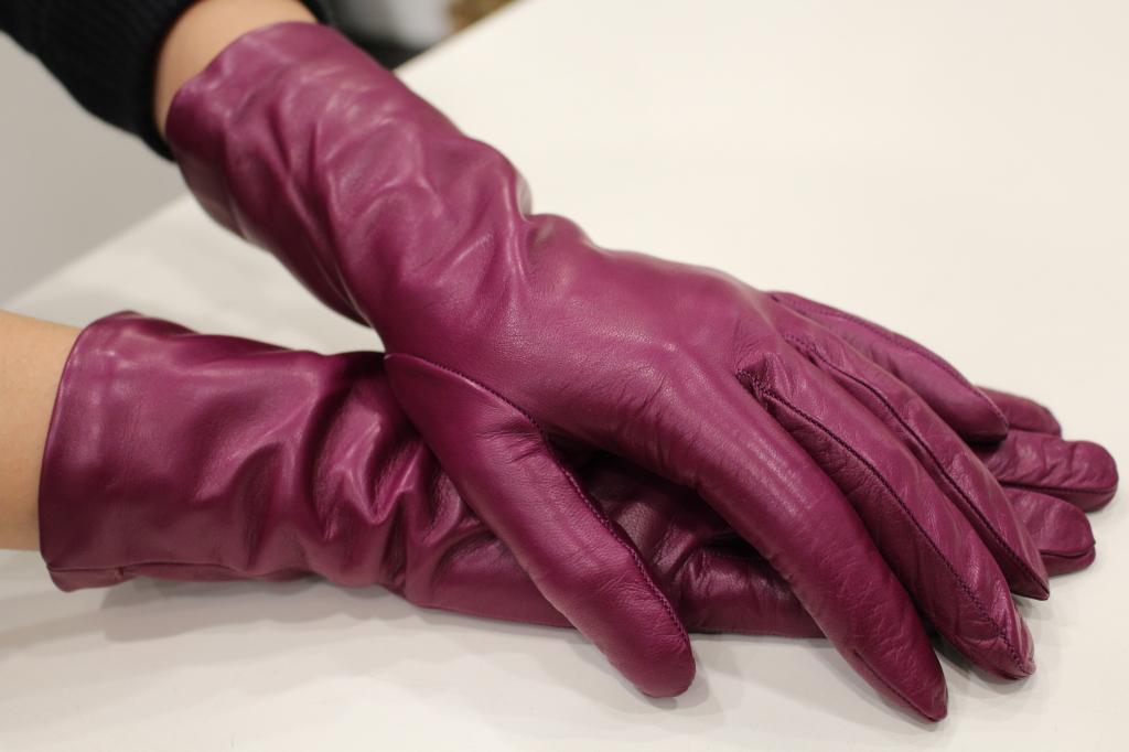 guanti donna 3/4 Sergio de Rosa in morbidissima pelle