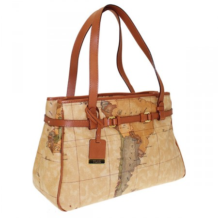 shopping bag geo classic alviero martini d031