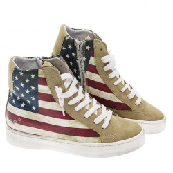 sneakers alte usa flag ynot ay001
