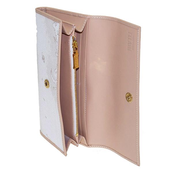 portafoglio donna interno geo white alviero martini w018