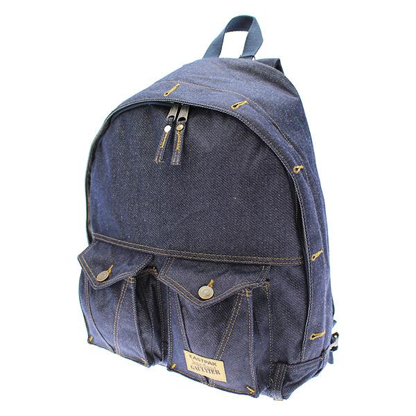 valigeria-ambrosetti-eastpak-zaino-padded-pak'r-limited-edition-denim-blu-ek15b