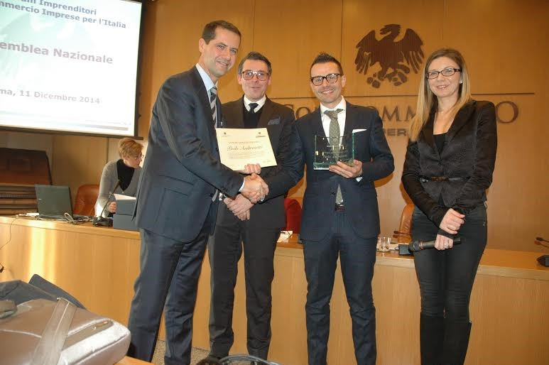 Paolo Ambrosetti Giovane Imprenditore Dell'Anno 2014