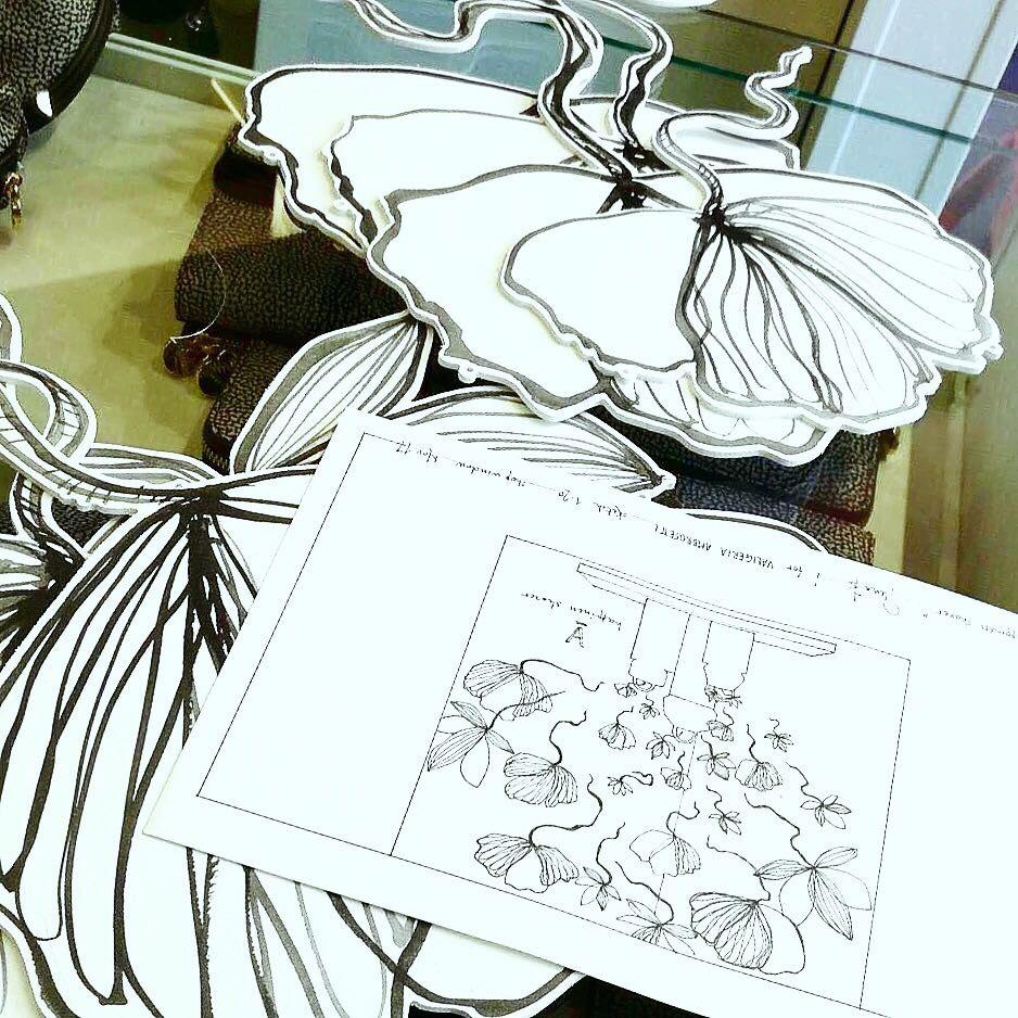progetto vetrine natalizie valigeria ambrosetti