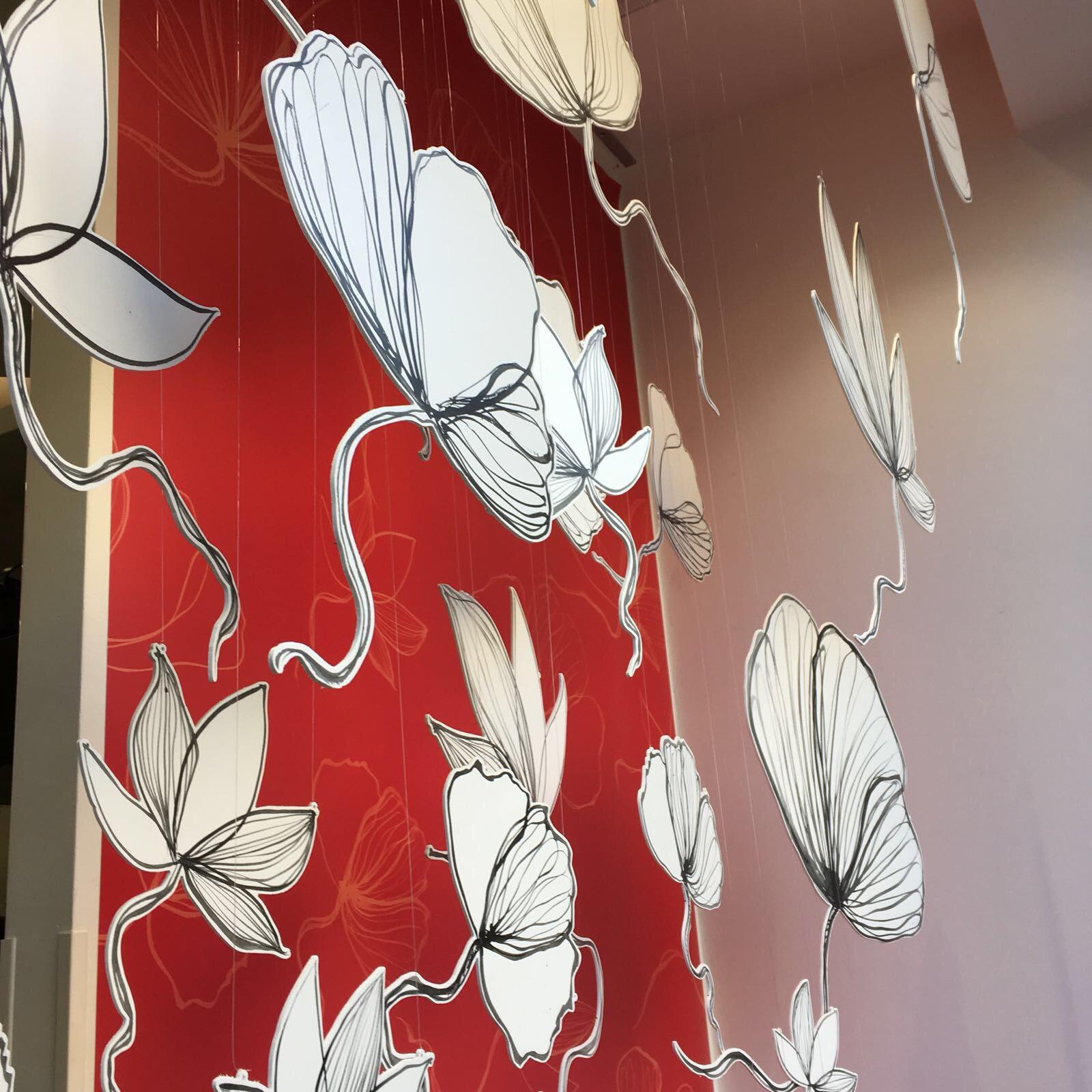 particolare vetrine natalizie valigeria ambrosetti