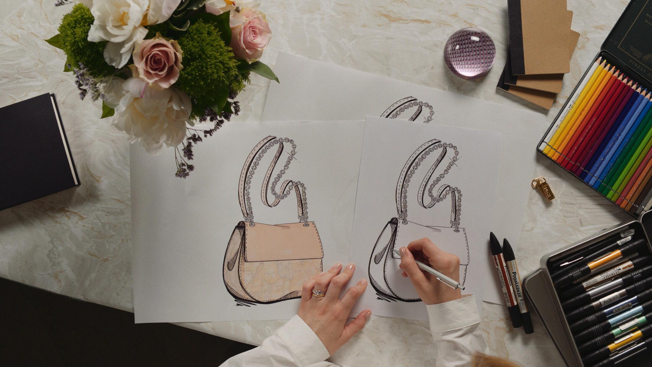 come si fanno le borse prima classe-disegno