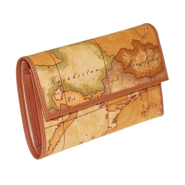 Portafoglio Donna Alviero martini 1^ Classe w017 - Portafoglio con mappa