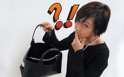 Come è possibile chiudere una borsa che non è dotata di cerniera?