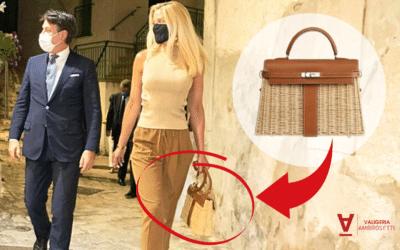 """Hermès """"Kelly"""": ecco la borsa indossata dalla fidanzata del Premier Giuseppe Conte che sta spopolando sul web"""