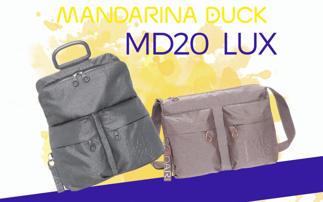 """Mandarina Duck: la storica linea MD20 diventa """"LUX"""""""