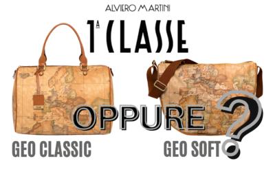 Borse Prima Classe: quale scegliere? Meglio il tessuto geo CLASSIC o geo SOFT?