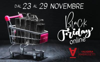 Black Friday 2020: una settimana di SCONTI online!