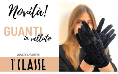 Alviero Martini 1^ Classe: ecco i guanti in velluto per proteggerti dal freddo, e non solo!