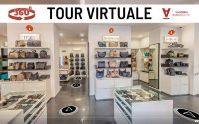 [Video] Tour Virtuale della Valigeria Ambrosetti: come visitare il negozio comodamente da casa!