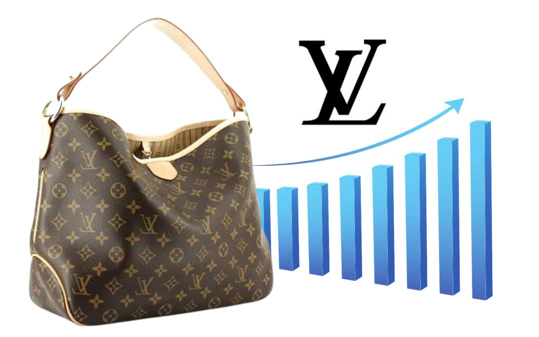 Louis Vuitton: le borse rincarano ancora dal 3% al 5%