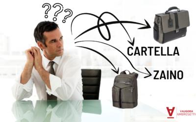 Borse Business: zaino o cartella? Guida nella scelta giusta