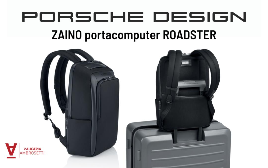 Zaino Portacomputer Porsche Design: niente è impossibile! [FOTO]