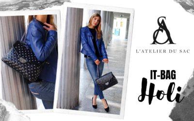 Borchie e catene: la borsa più trendy del momento è HOLI Rebel by Atelier du Sac
