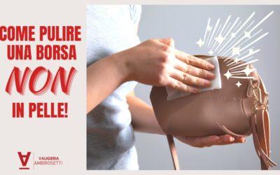 Come pulire una borsa (NON) in pelle!