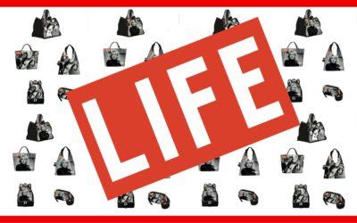 Il mito della rivista LIFE rivive in una linea di BORSE by L'Atelier Du Sac