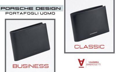 Business e Classic: le due linee di Portafogli Uomo Porsche Design che fanno già tendenza