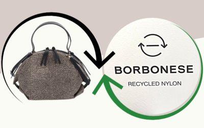 Borbonese: ecco le borse di Nylon PET fatte con Bottiglie di Plastica (VIDEO)